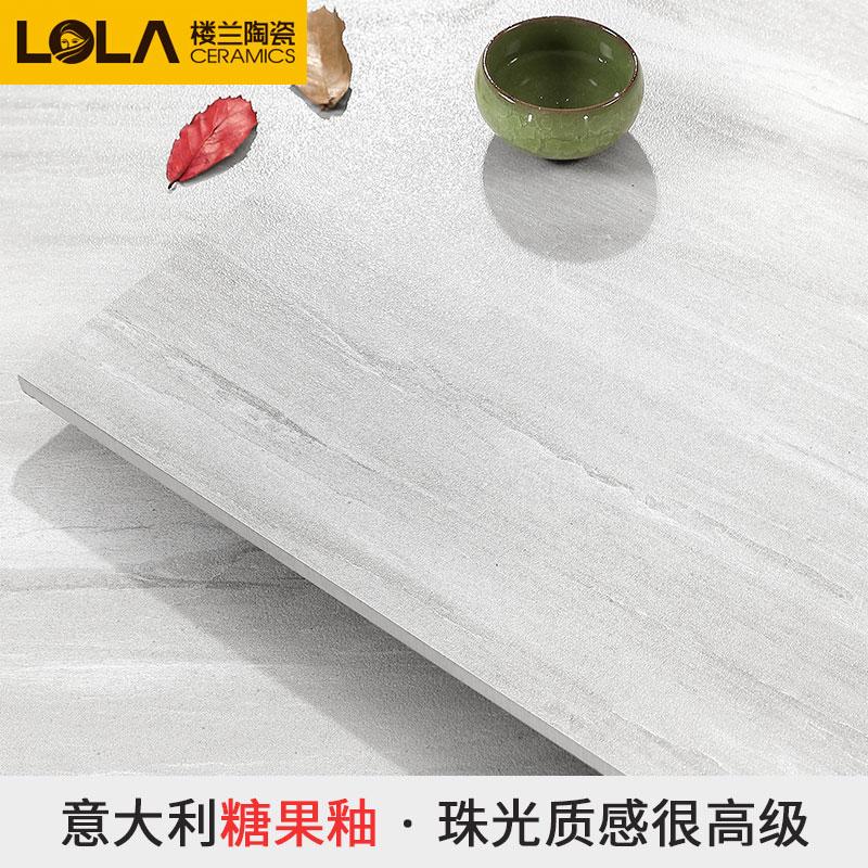 楼兰瓷砖 客厅卧室地板砖 糖果釉地砖 大规格1000x1000 水墨山河