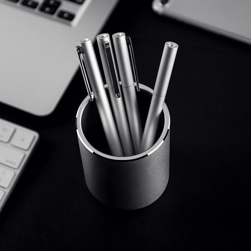 金属笔筒创意时尚可爱女清新学生摆件办公个性简约定制北欧多功能