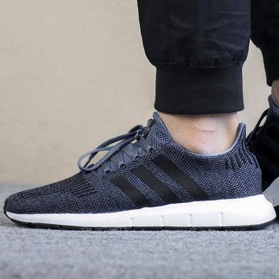 阿迪达斯男鞋2018秋季新款三叶草板鞋透气女鞋子运动鞋休闲跑步鞋
