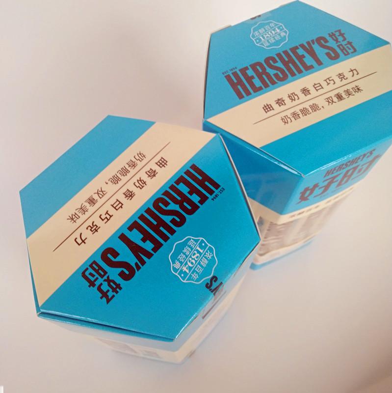 好时HERSHEY'S分享装 曲奇奶香白巧克力210g 14条装优惠券