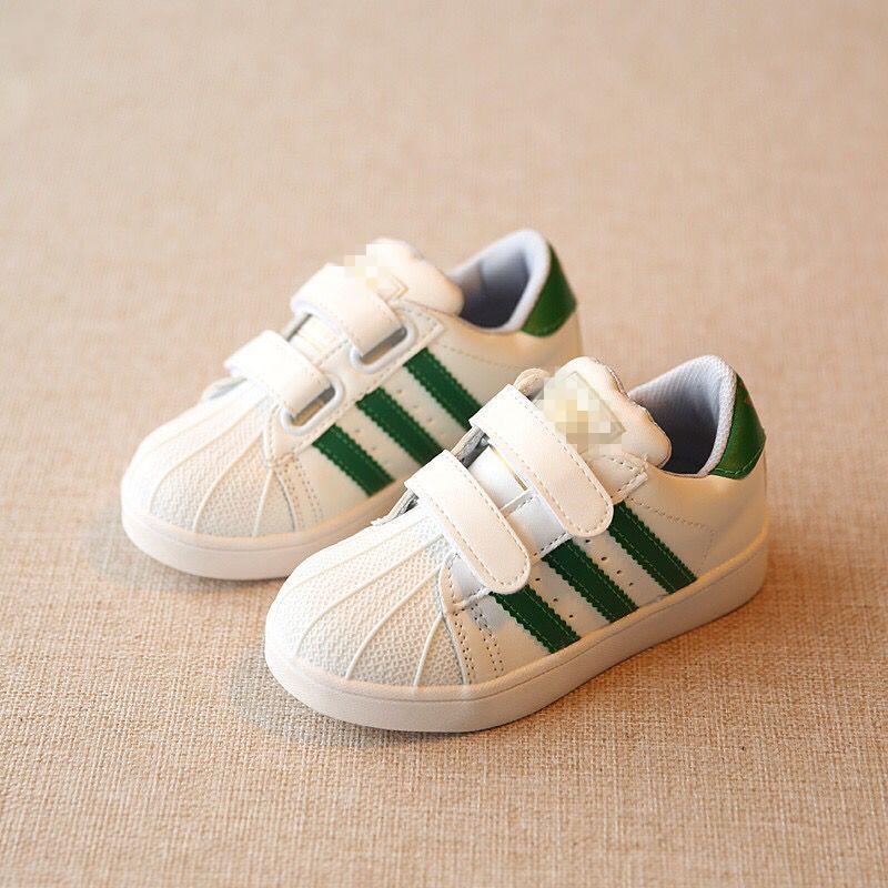 贝壳头宝宝童鞋休闲透气板鞋小白鞋