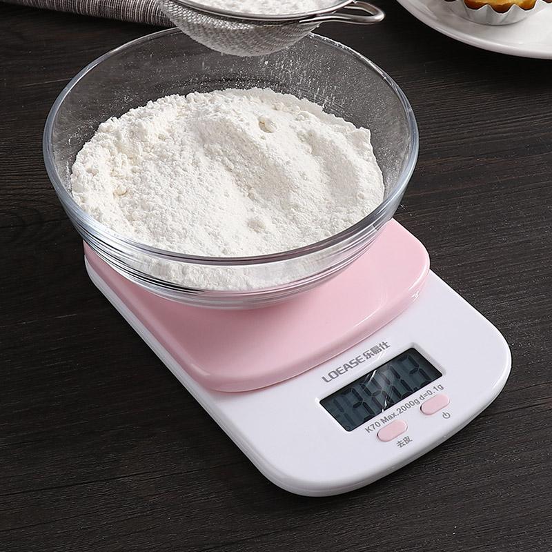 优思居家用厨房食品小型电子秤