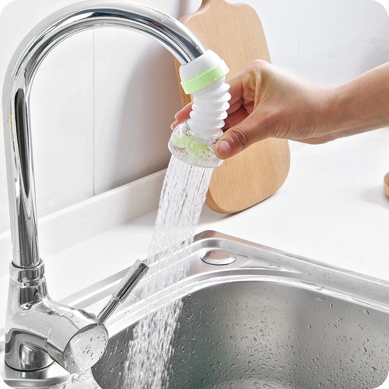 家用可旋转水龙头防溅花洒过滤器过滤嘴自来水节水器滤水器过滤阀