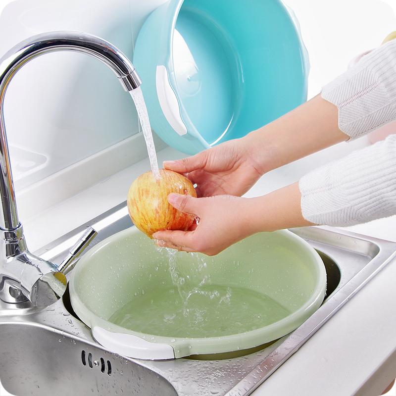 大号塑料盆子儿童婴儿洗脸盆子宿舍用学生加厚脸盆家用小号洗衣盆