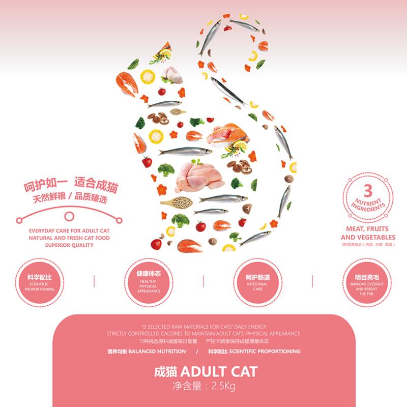 猫粮成猫 麦顿猫粮肥发腮 去毛球另售猫粮10kg包邮幼猫粮2.5kg优惠券