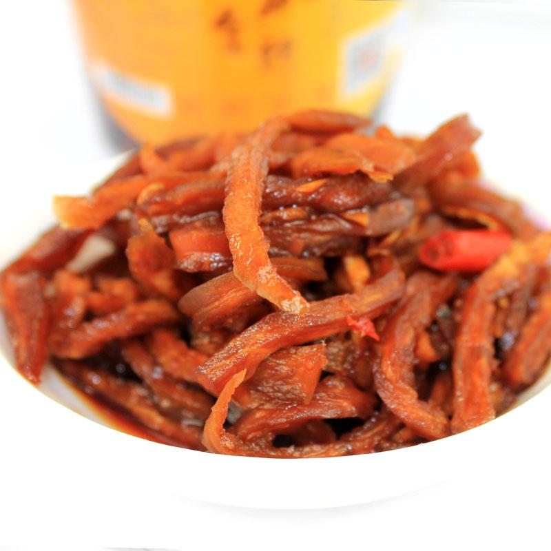 湖南特产柳麻子木瓜金丝2瓶*400g下饭菜腌制木瓜丝酱菜香辣爽口菜
