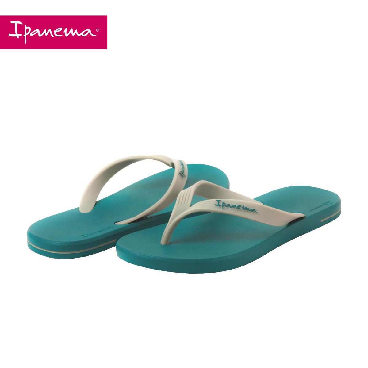 新款夏男士纯色人字拖平底拖鞋外穿凉拖鞋 2018 巴西 Ipanema