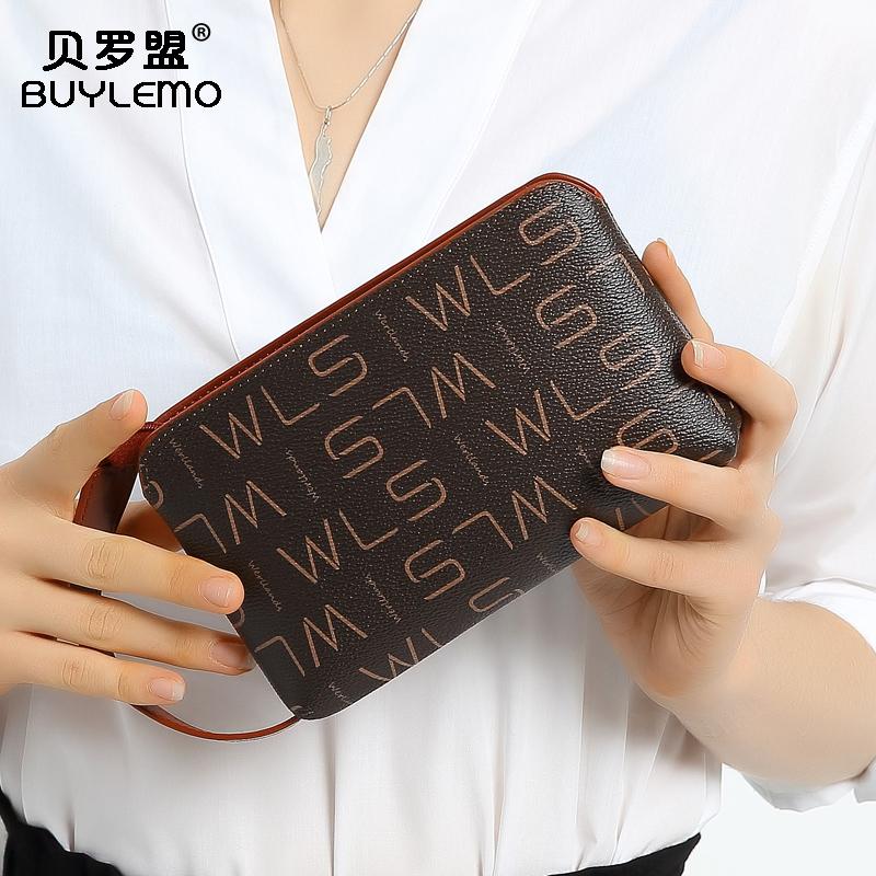 手包女2020新款時尚手拿包女士手拎包小ck迷你潮多功能手機零錢包