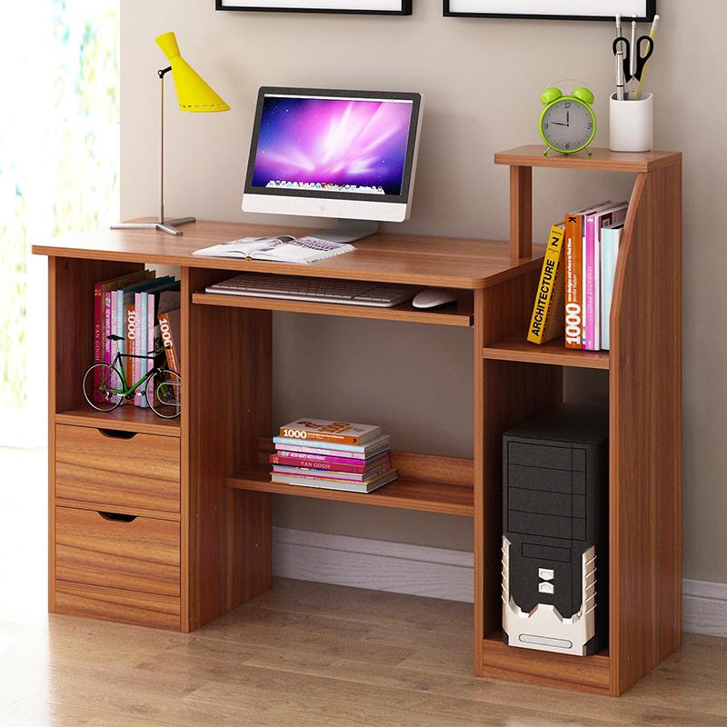电脑桌台式桌家用简约书桌经济型办公桌卧室简易小桌子学生写字桌