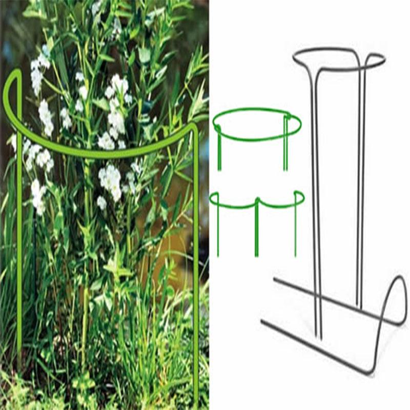 半圆形花支撑种菜支架植物支柱园艺支架绣球架花支架一套