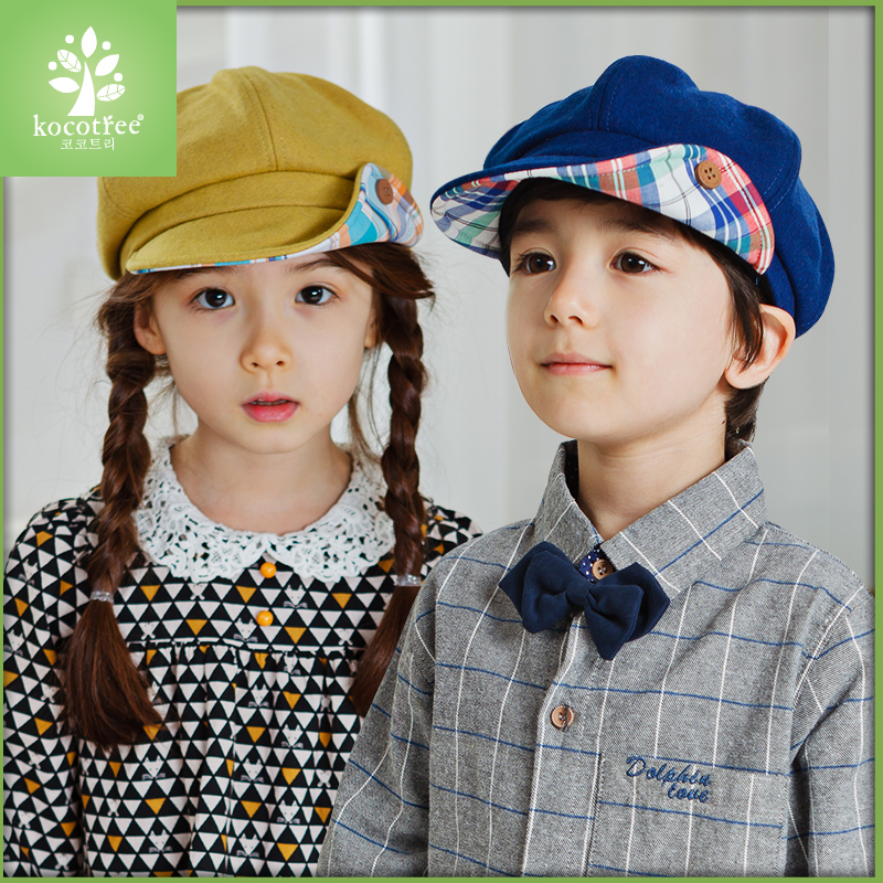 e248d386b51 2016 korean version of the fall and winter baby boy cap children beret cap  hat sun hat for girls ages autumn
