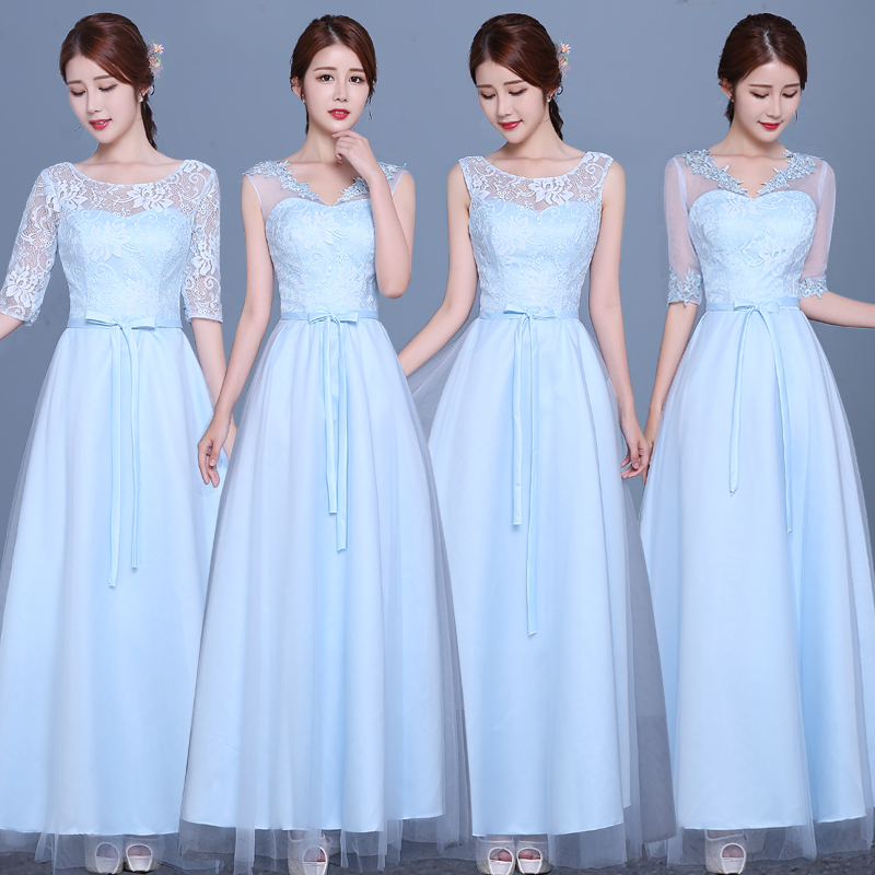 Buy 2016 summer new bride wedding dress bridesmaid dress evening ...