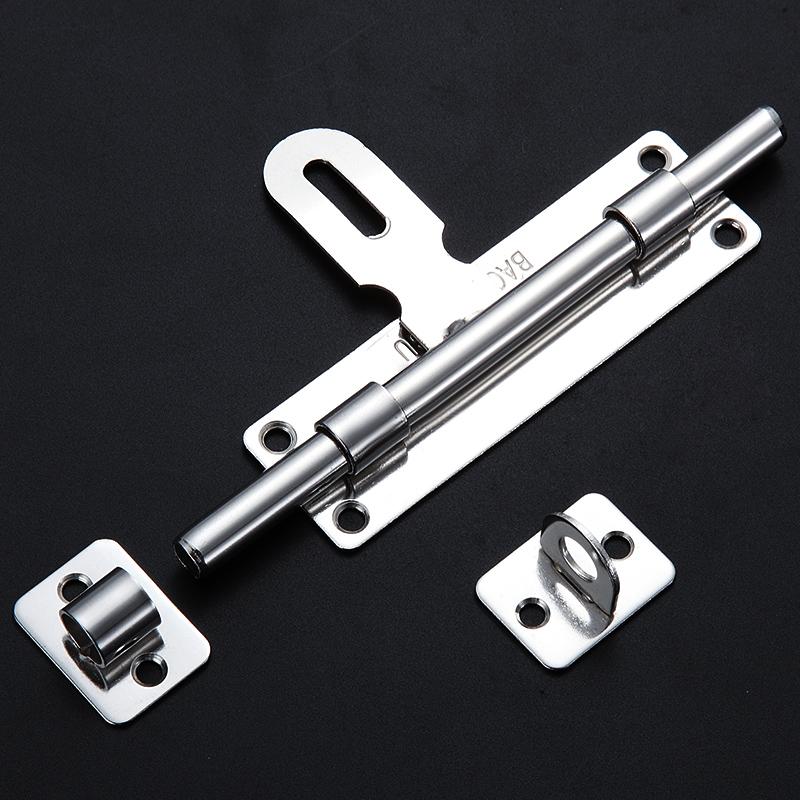 包邮 不锈钢插销门栓防盗门木门明装插销卫生间插销锁门扣门锁扣