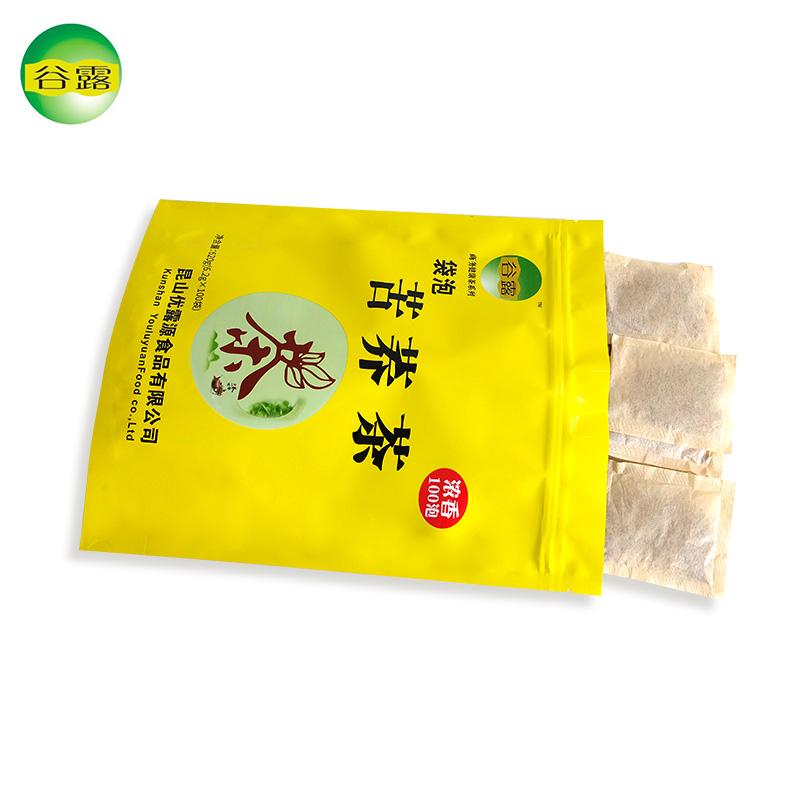 包袋泡苦荞茶醇香黄金荞麦茶餐饮酒店专用茶叶包袋装包邮 500 谷露