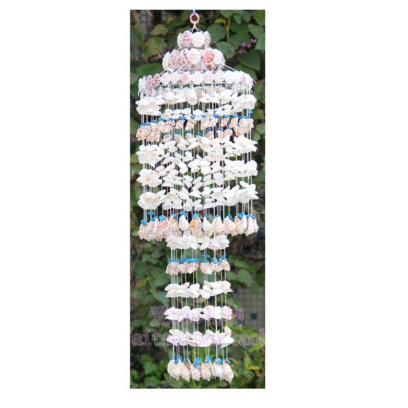 贝壳风铃挂饰日式创意夜光贝壳风铃挂饰送男生女生创意礼物 包邮
