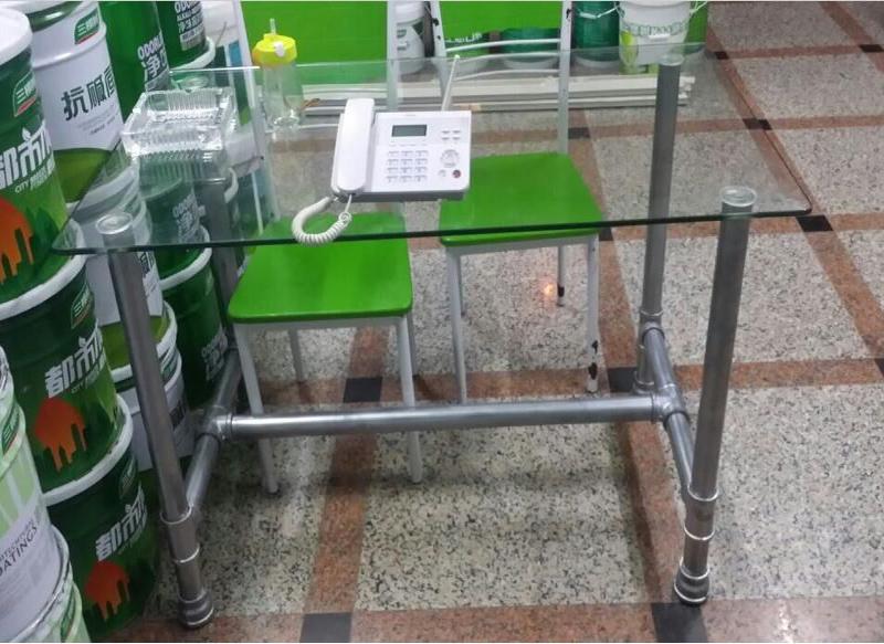 铁艺定制桌脚办公桌桌腿支架桌架脚架吧台架餐桌玻璃桌支撑架包邮