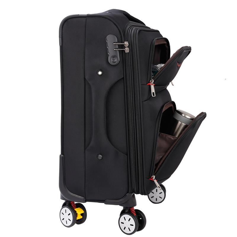 牛津布行李箱24寸男拉杆密码箱万向轮帆布旅行箱女26学生28大容量