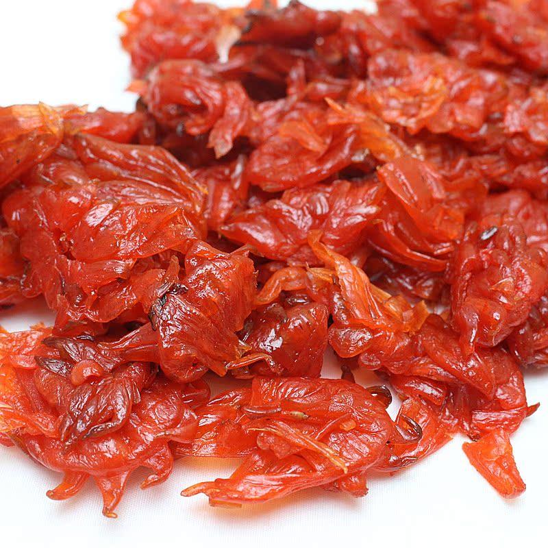 克包邮 500 洛神花特产玫瑰茄果脯玫瑰食用花瓣零食蜜饯 玫瑰花脯