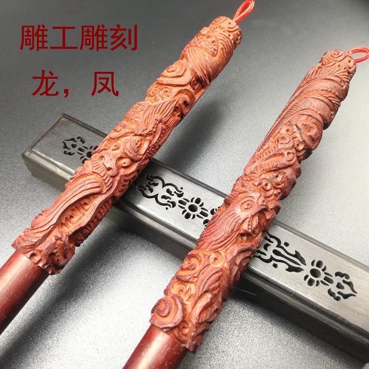 胎毛笔DIY自制作 小叶檀胎发笔 印度小叶紫檀木 满月胎毛纪念品