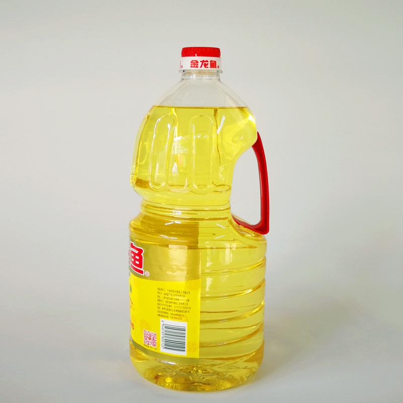金龙鱼菜籽油2.5l*6瓶精炼一级食用油色拉油炒菜2.5升一箱