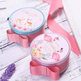 喜糖盒伴手礼盒生日礼物女铁盒糖盒结婚用品喜糖盒子创意浪漫欧式