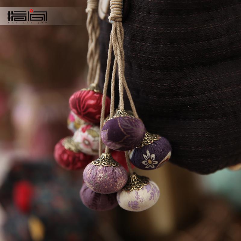 指间手工diy制作布艺套件汽车挂件饰品包包钥匙扣棉拼布创意礼品