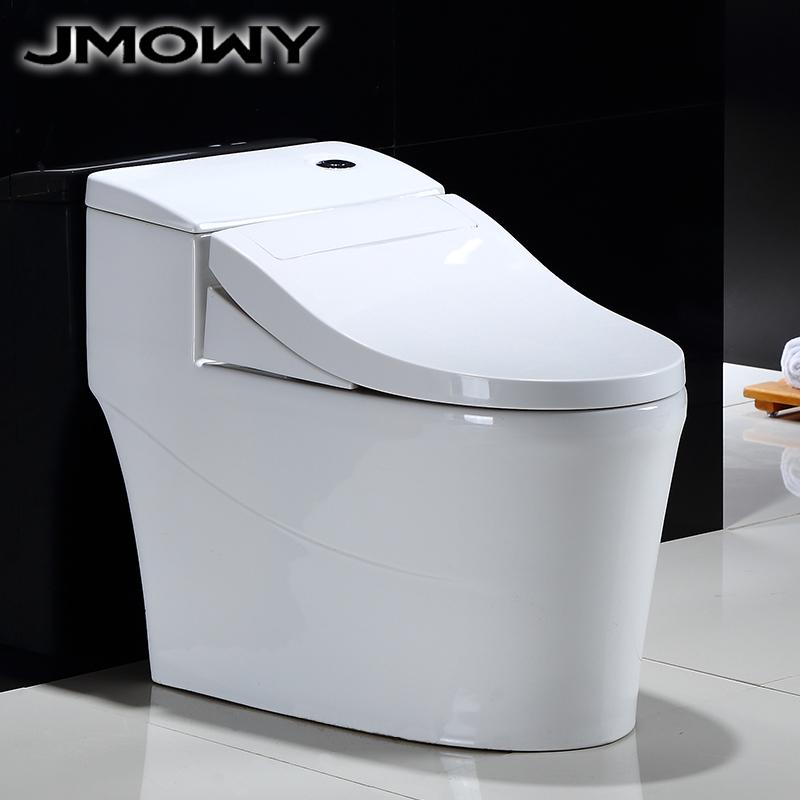 吉牧欧陶瓷抽水马桶家用虹吸节水座便器卫生间防臭大人普通坐便器