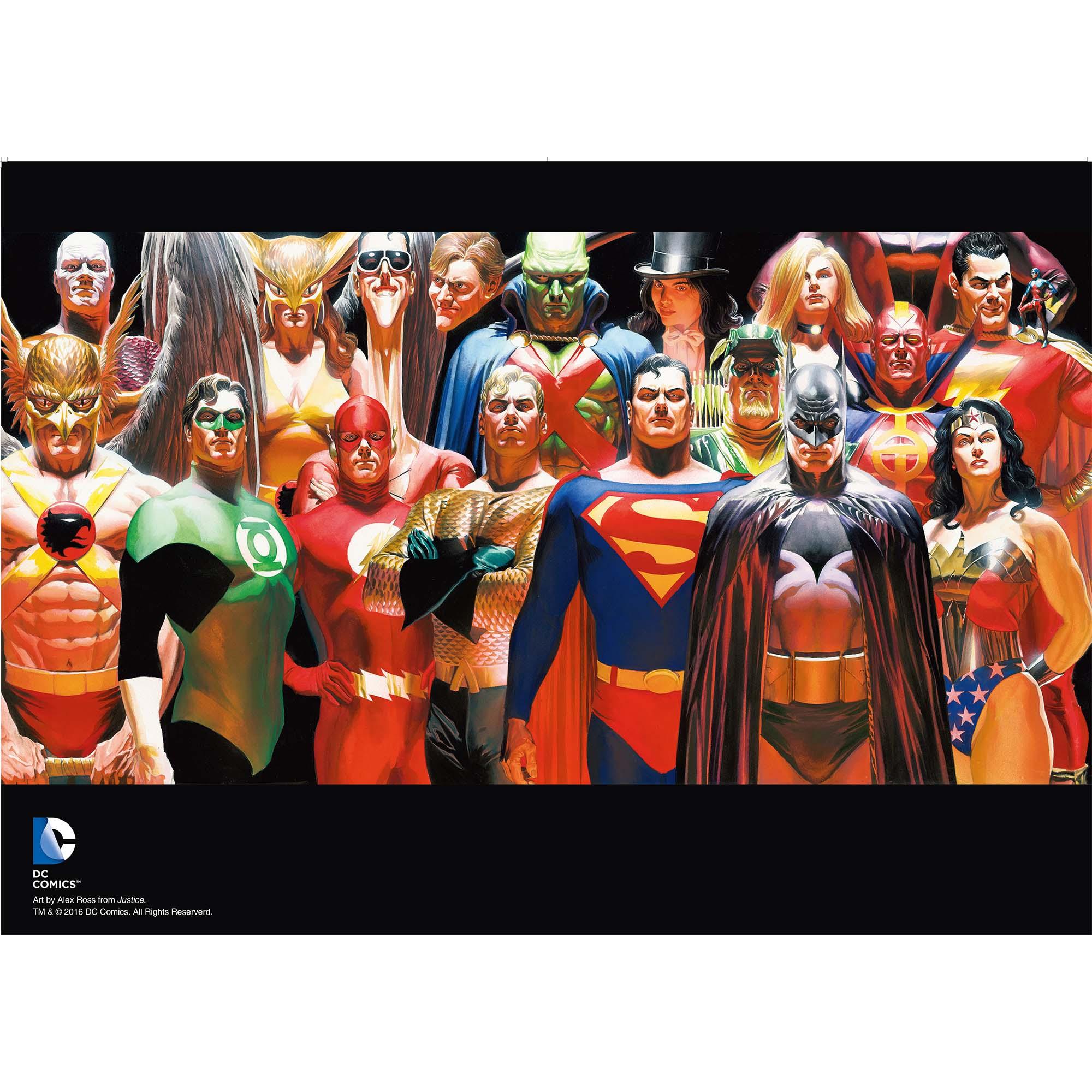 人 单本完结经典英文小说全彩漫画 级英雄漫画书 DC 华纳 亚历克斯罗斯绘 精装带函套赠海报 正义 世图美漫 正版现货