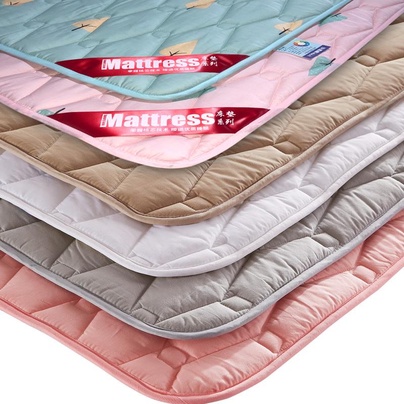 床垫床褥1.8米席梦思保护垫榻榻米软垫被家用单双人1.5m褥子防滑