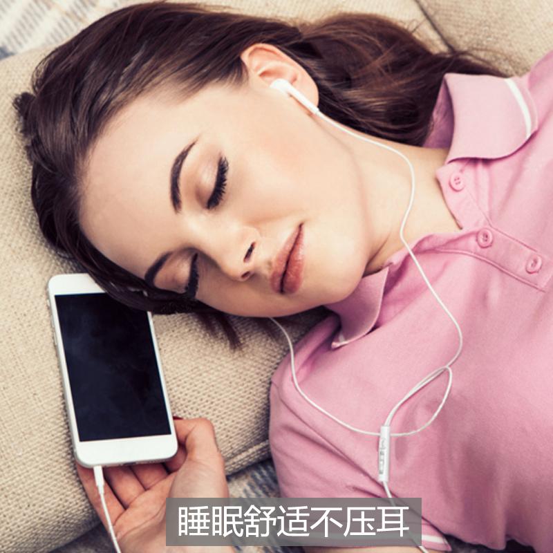原装正品少女心耳机糖果色入耳式安卓type-c可爱韩版女生萌魔音oppor15三星s8华为p20小米6x一加vivox21睡眠