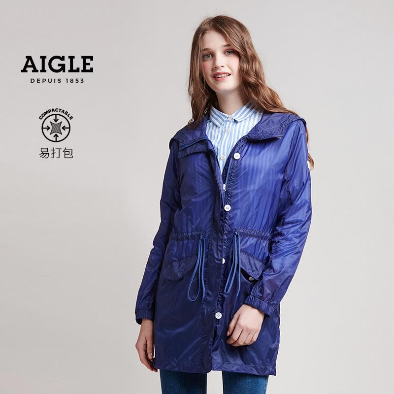 TRUDA 艾高  AIGLE 女士防泼水易打包轻量风衣