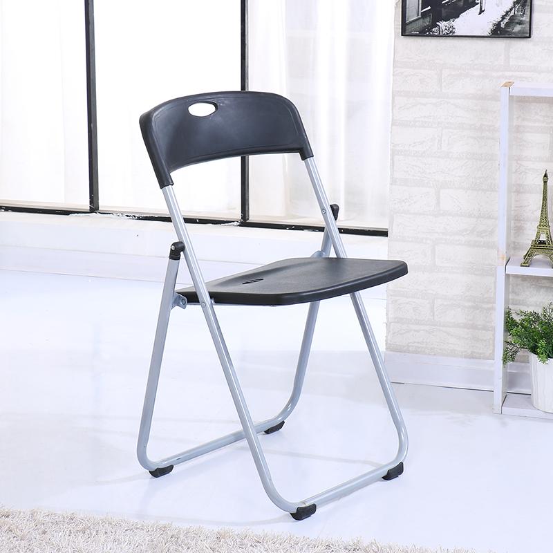 塑料椅子家用椅子折叠椅白色办公椅会议椅电脑椅座椅培训椅靠背椅