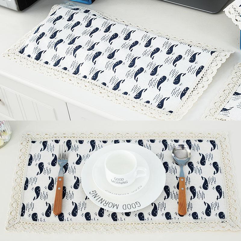 买二送一 多用巾电脑防尘罩键盘罩键盘盖巾田园布艺罩笔记本盖布