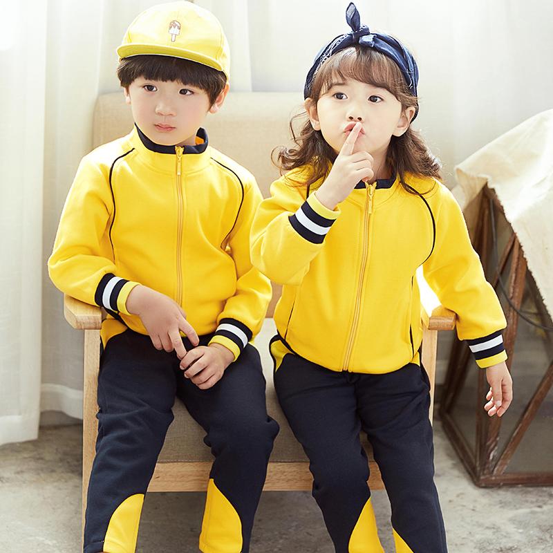 幼儿园园服春秋装英伦风小学生校服亲子儿童运动套装班服定制