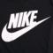 Nike耐克短袖女上衣2018夏季新款运动宽松透气休闲黑白T恤829748