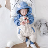 Down 0-1 9 female baby winter a 2-year-old holds out warm clothing 3 8 6 months male baby coveralls winter