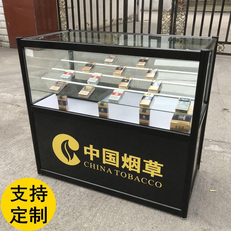 超市便利店烟柜展柜货架珠宝手机展示柜玉器模型陈列柜烟酒架柜台