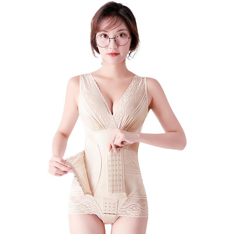 加强版美人颜计塑身连体衣正品无痕产后收腹提