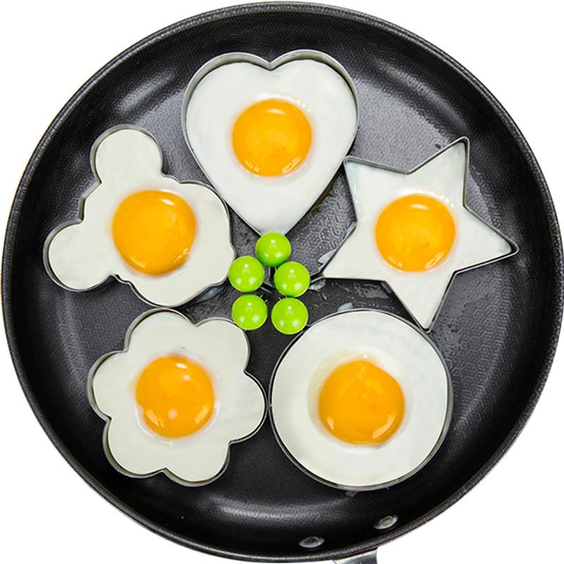 加厚不锈钢煎蛋器模型爱心型煎蛋模具创意煎蛋圈煎鸡蛋荷包蛋磨具