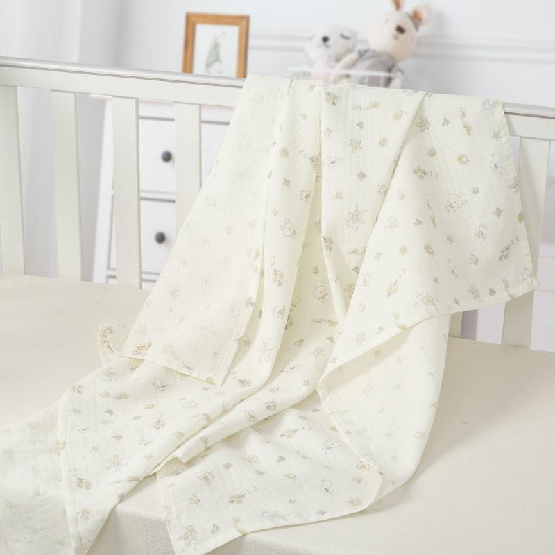 婴儿床单儿童宝宝新生儿床单童床床单纱布床单纯棉婴儿床