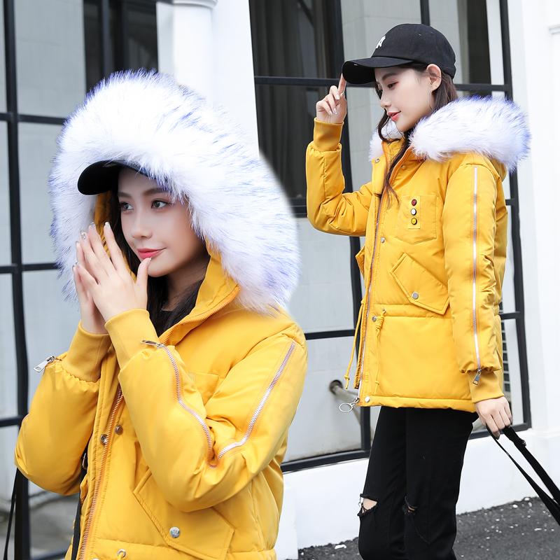 2020冬季新款羽绒棉服女短款派克服棉衣女韩版宽松棉袄女冬外套潮主图