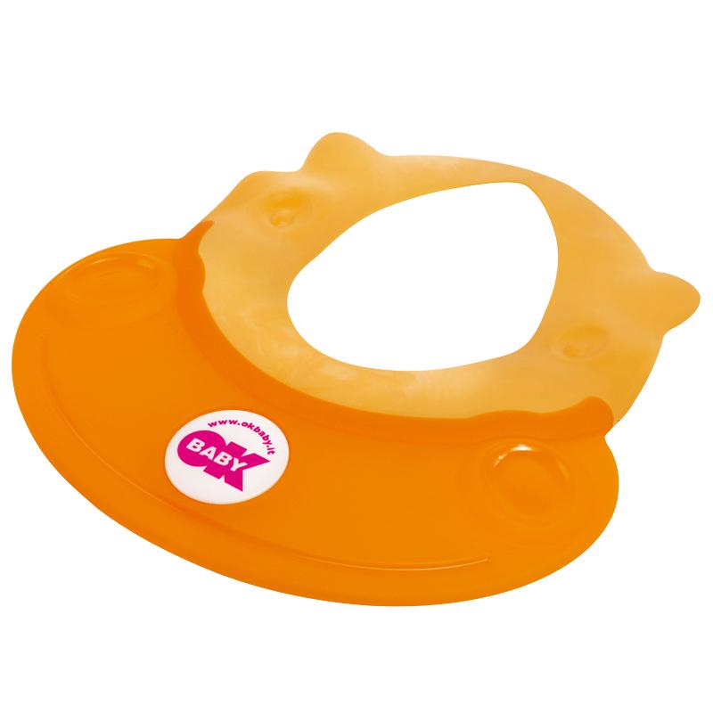 OKBABY宝宝洗头帽防水护耳婴儿洗澡洗发帽小孩淋浴帽神儿童洗头器