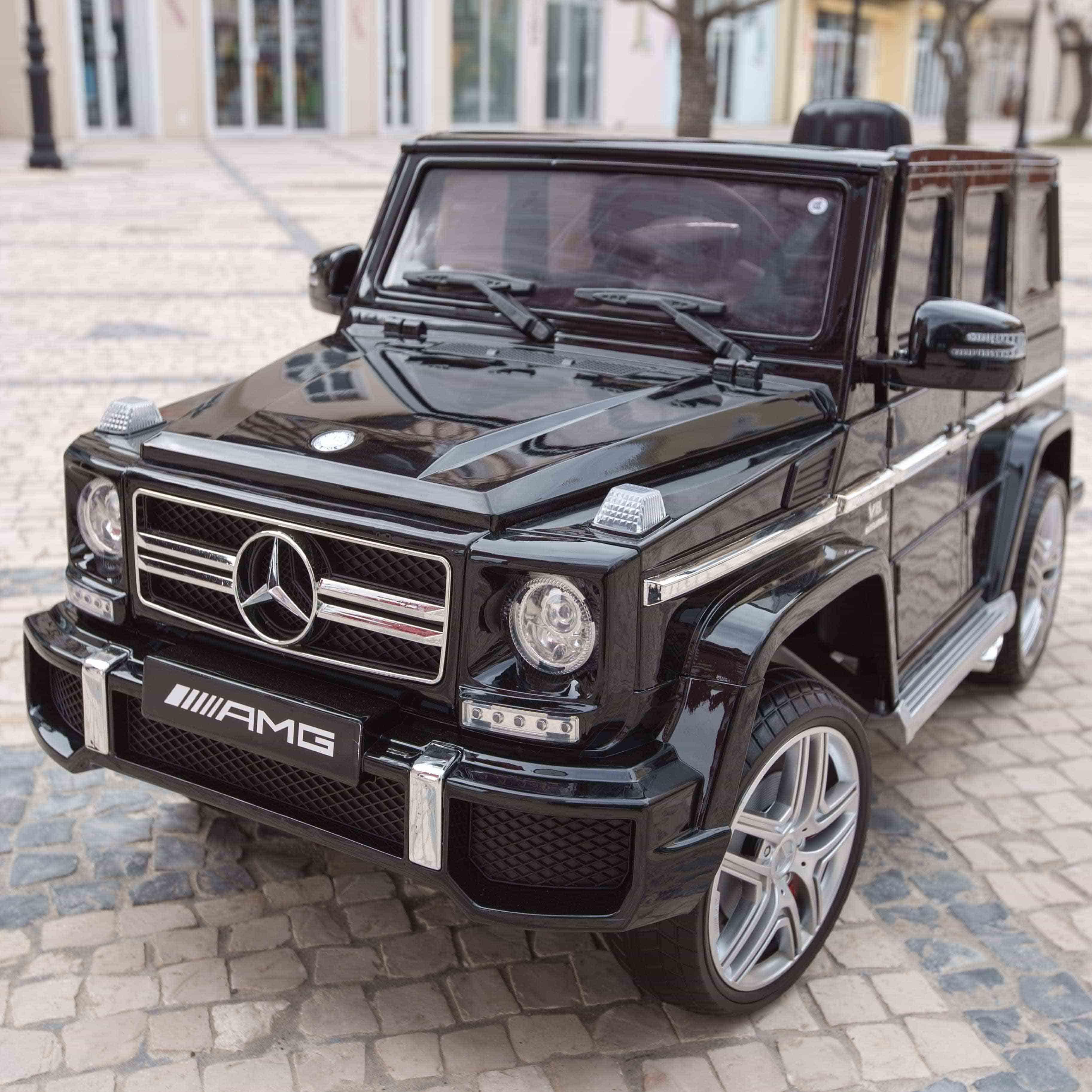 奔驰授权G63 儿童电动玩具车遥控车四轮驱动充电婴儿可座童车包邮