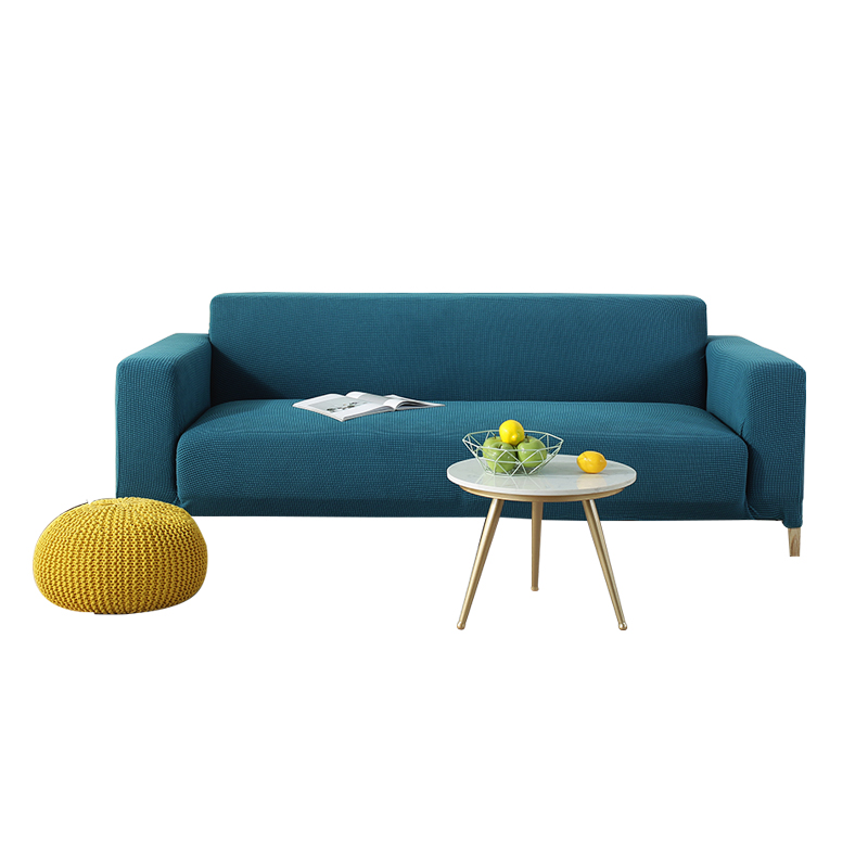 弹力沙发套罩全包萬能套通用型懒人沙发罩简约沙发垫加厚防滑布艺 - 图0
