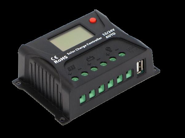 家用太阳能发电系统路灯手机充电宝15W单晶光伏组件控制器蓄电池