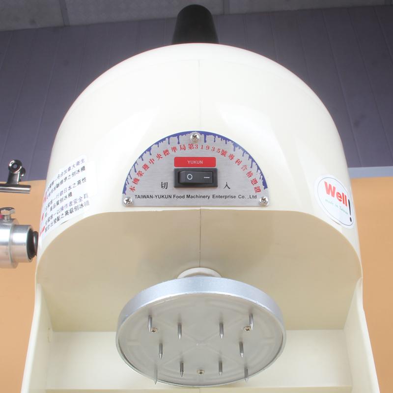 绵绵冰机 商用 碎冰机 刨冰机 雪花冰沙机 奶茶店电动削冰机YUKUN