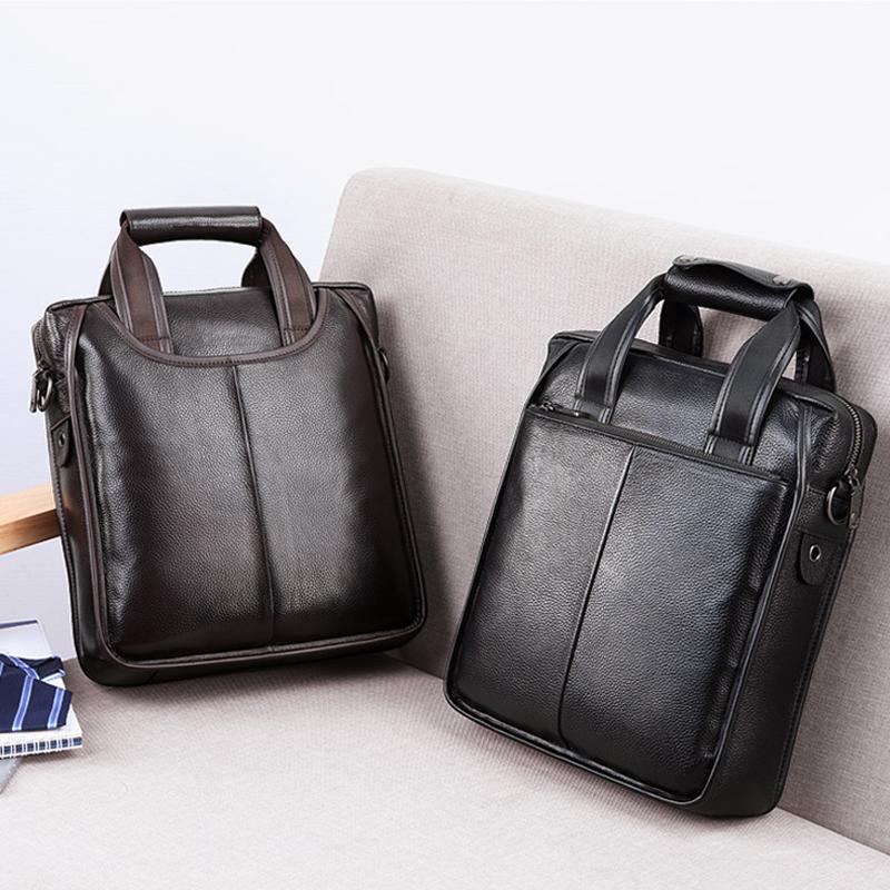 莱伦莱斯男包手提包男士单肩包斜挎商务休闲包公文包潮流背包竖款
