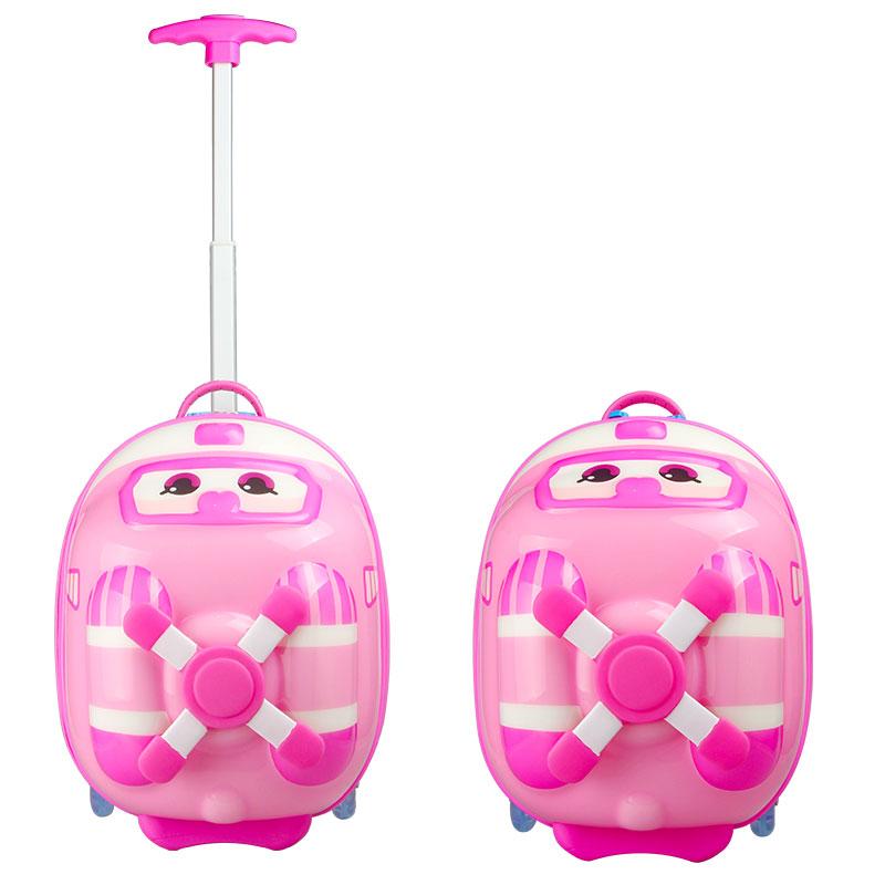 超级飞侠儿童乐迪小爱多多米莉奥迪双钻儿童拉杆箱行李箱定向轮