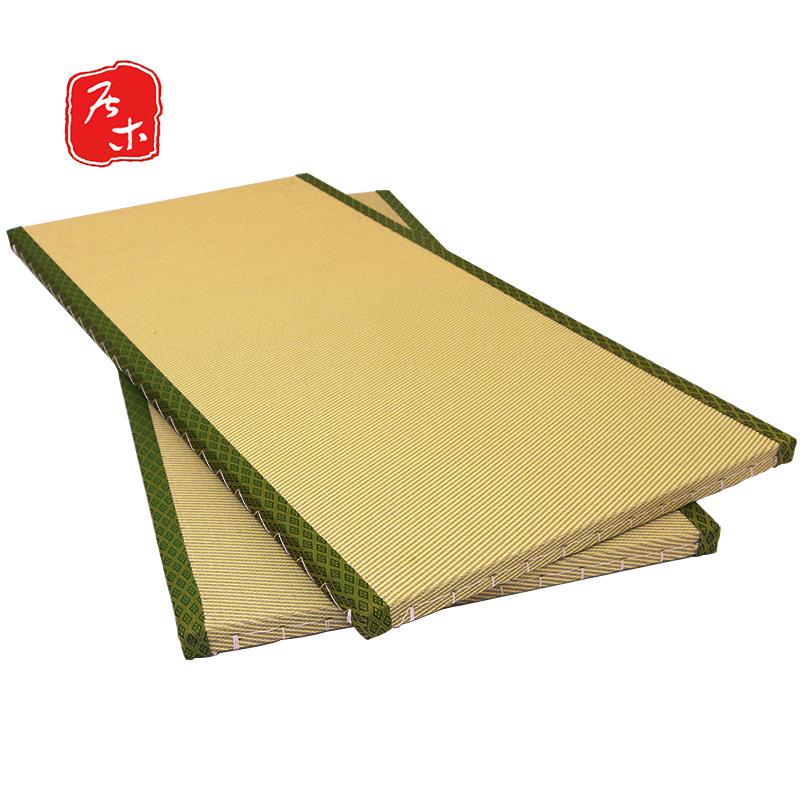 居木定制日式榻榻米地垫双色菱织塔塔米床垫和室地台塌塌米草垫子