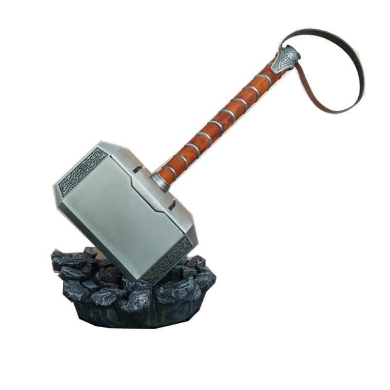 HCMY雷神之锤1比1全金属雷神托尔暴风战斧玩具武器大号模型周边
